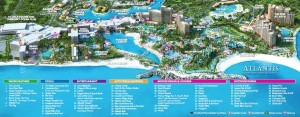 Atlantis Resort Map